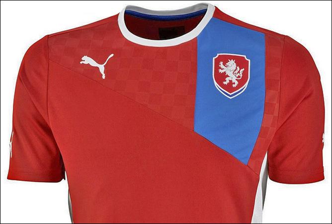 Форма сборной Чехии