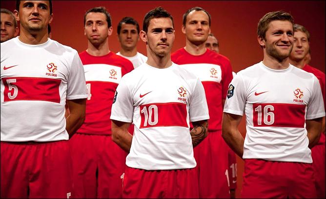 Форма сборной Польши
