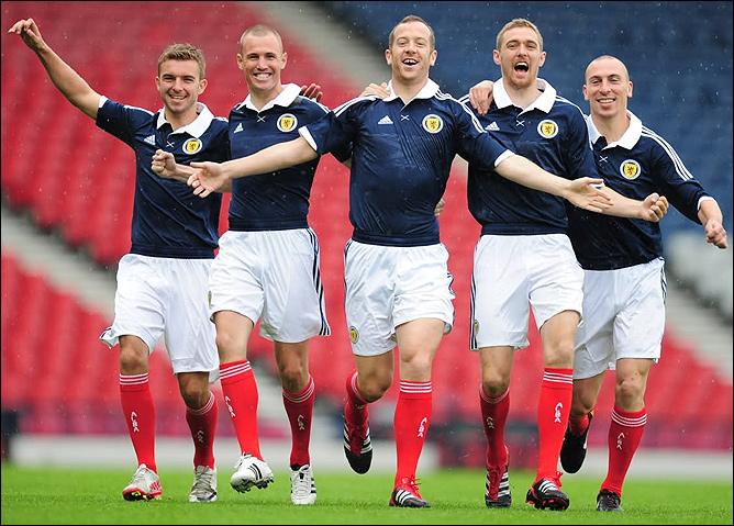 Форма сборной Шотландии