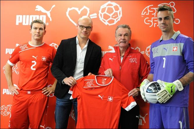 Форма сборной Швейцарии