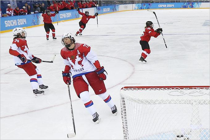 Женская сборная России проиграла в четвертьфинале