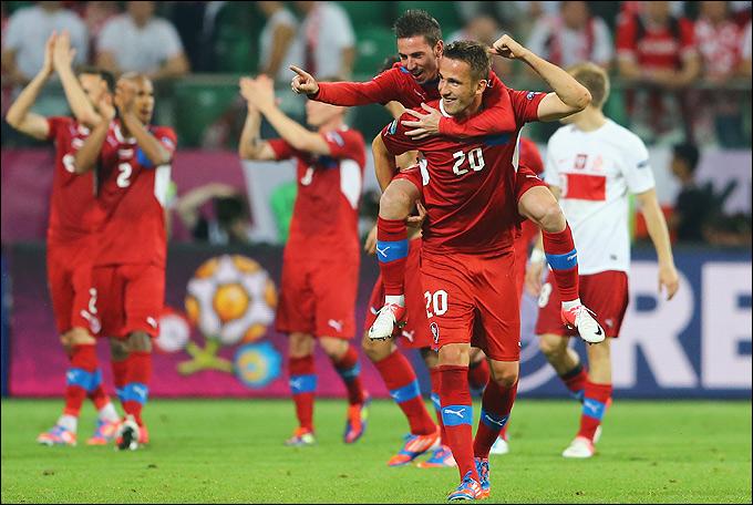 Сборная Чехии после стартового поражения от российский команды сумела выйти из группы с первого места