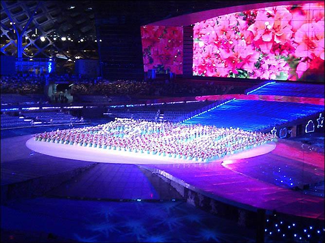 Примерно так будет выглядеть церемония открытия Универсиады-2011