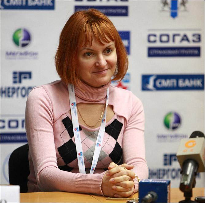 """Пресс-атташе """"Сибири"""" Мария Левинская"""