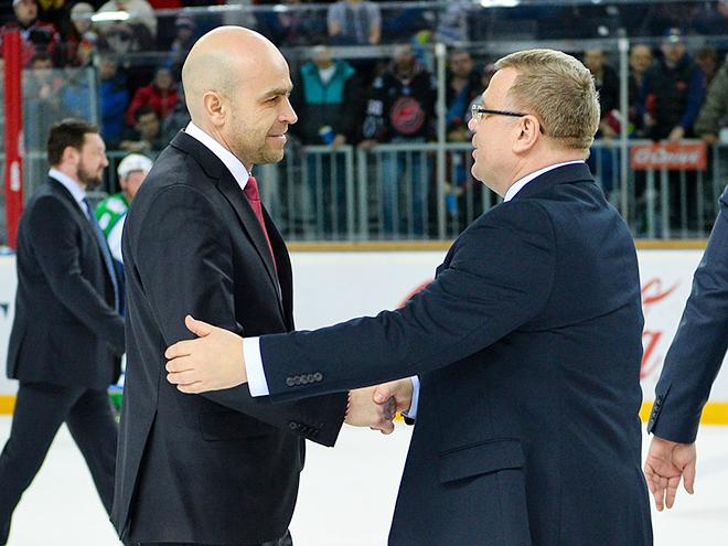 Евгений Корноухов и Игорь Захаркин