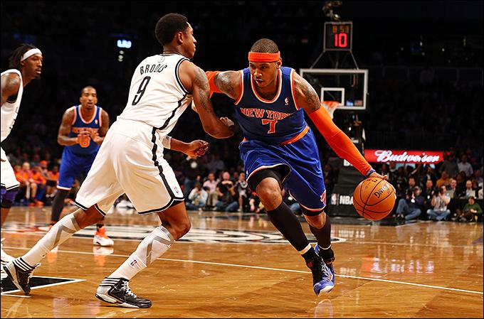 """Баскетбол. НБА. """"Нью-Йорк Никс"""" – """"Бруклин Нетс"""""""