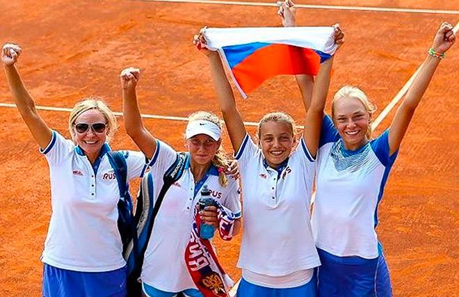 Большие успехи российских юниоров