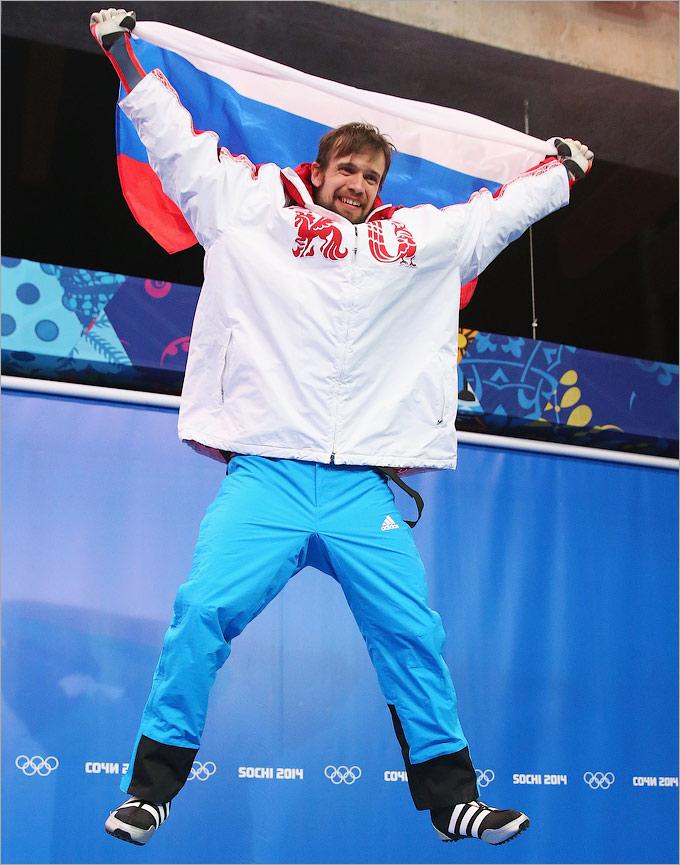 Александр Третьяков принёс золото в скелетоне