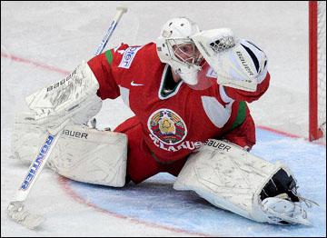 4 мая 2012 года. Хельсинки. Чемпионат мира. Групповой турнир. Белоруссия — Финляндия — 0:1. Виталий Коваль