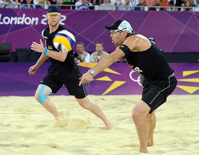 Олимпийские чемпионы Бринк/Рекерманн (Германия)