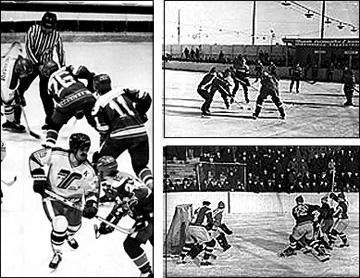 Иторические вехи Высшей хоккейной лиги