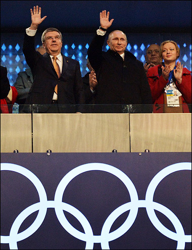 Президенты МОК и России