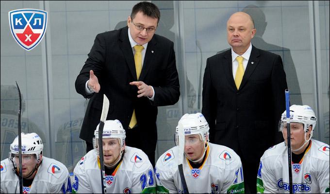 Андрей Назаров и Игорь Калянин