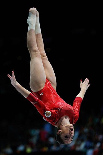 Сборная России по спортивной гимнастике. 4-е место на чемпионате мира