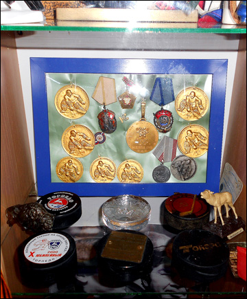 Медали и награды Виктора Коноваленко