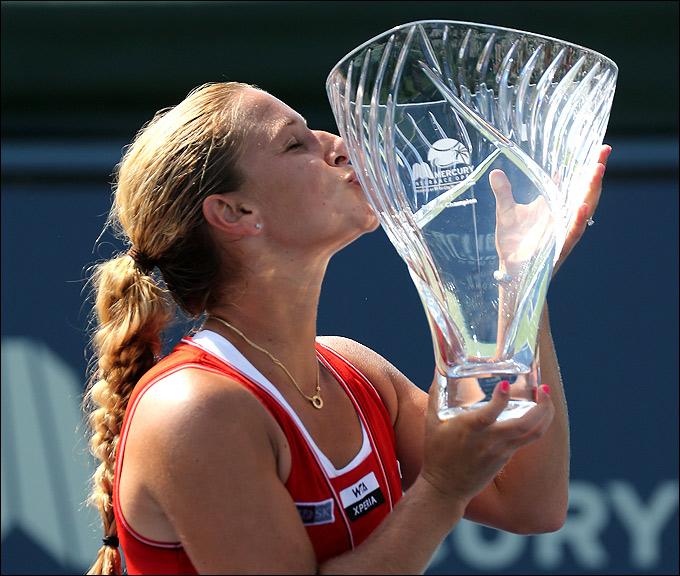 Доминика Цибулкова выиграла турнир в Карлсбаде