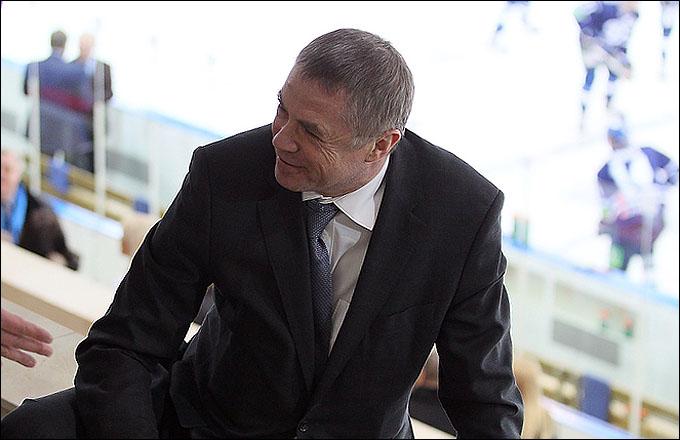 """Александр Медведев на матче """"Динамо"""" — СКА"""