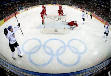 Олимпийские игры-2006. Турин. Полуфинал. Россия – Финляндия – 0:4