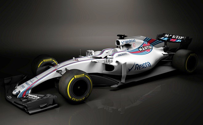Williams FW40, вид сбоку