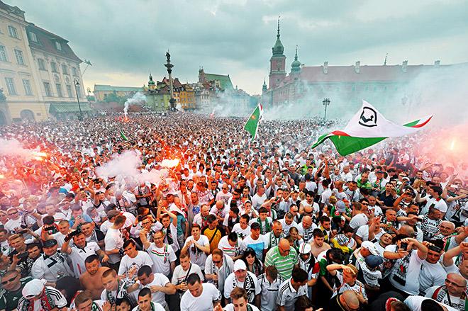 Как «Легия» выиграла чемпионат Польши под руководством Черчесова