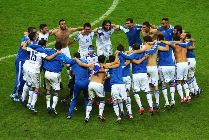 Игроки сборной Греции