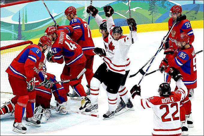 Олимпийские игры-2010. Ванкувер. Четвертьфинал. Россия – Канада – 3:7