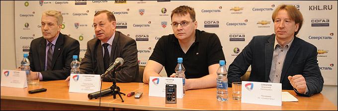 Николай Пятунин, Михаил Ставровский, Андрей Назаров и Владимир Соколов