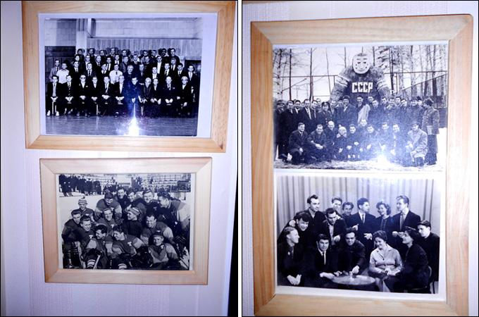 На стенах в доме Виктора Коноваленко — фотографии из 60-х