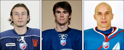 Владимир Коротков, Павел Копытин и Михаил Потякин