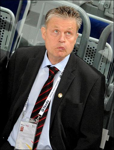 Главный тренер сборной Дании Пер Бэкман