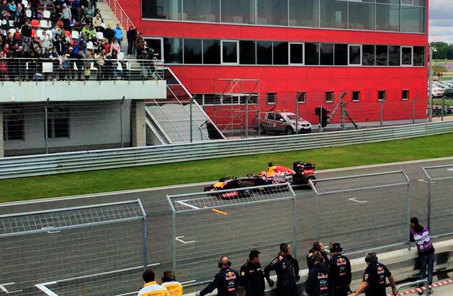 Даниил Квят на Moscow Raceway