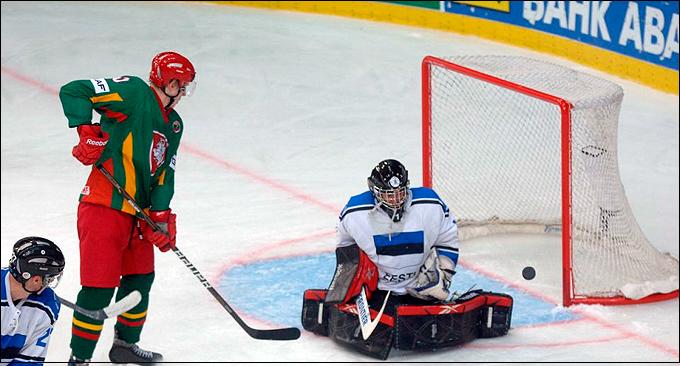 20 апреля 2013 года. Чемпионат мира. Донецк. Литва – Эстония – 12:3