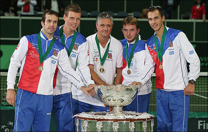 Сборная Чехии во второй раз в истории завоевала Кубок Дэвиса