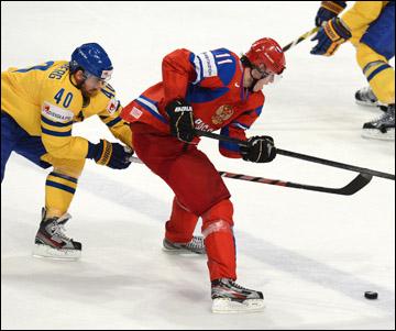12 мая 2012 года. Стокгольм. Чемпионат мира. Групповой турнир. Россия — Швеция — 7:3