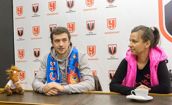 Денис и Алла Юсковы