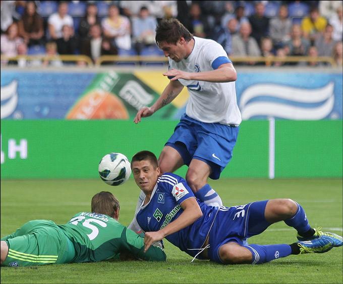 Динамовцы Киева тоже страдали от точных ударов Селезнёва
