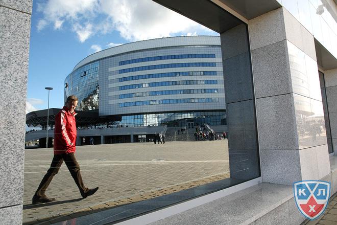 «Минск-Арена» застыла в ожидании…