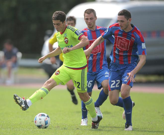 ЦСКА не смог обыграть в контрольном матче «Енисей»