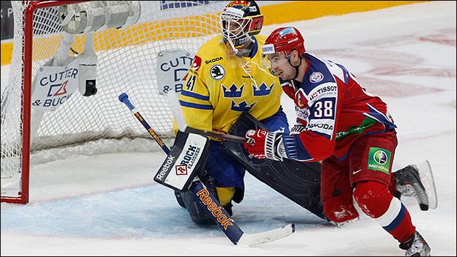 12 ноября 2011 года. Хельсинки. Кубок Карьяла. Швеция — Россия — 1:4