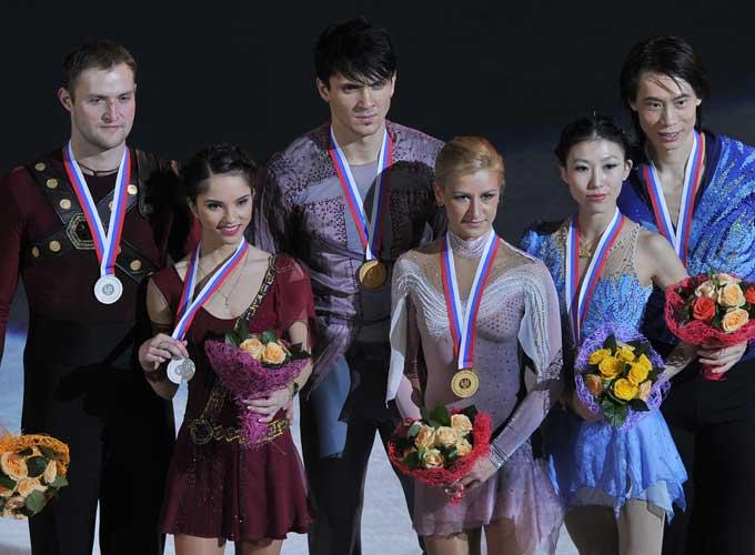 Серебряные призёры финала Гран-при