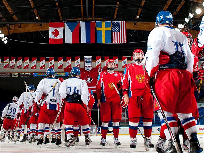 12 ноября 2011. Лэнгли. Кубок Вызова. Россия U-18 — Чехия U-18 — 3:2