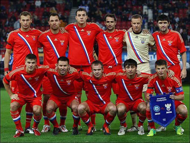 Футбол. Товарищеский матч. Дания – Россия