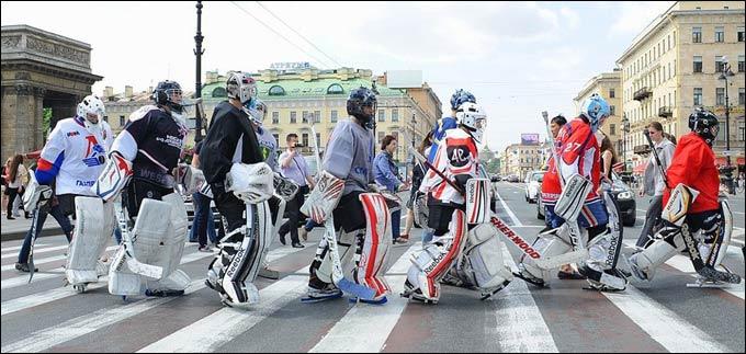 Санкт-Петербург — вратарская столица России