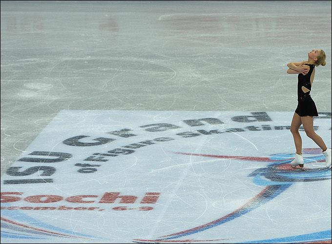 … а сейчас ледовая арена принимает один из главных турниров сезона