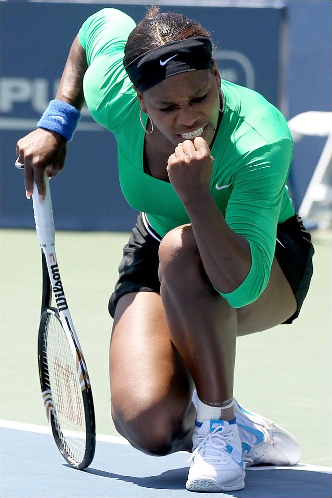 Трепещи, теннисный мир… она вернулась!