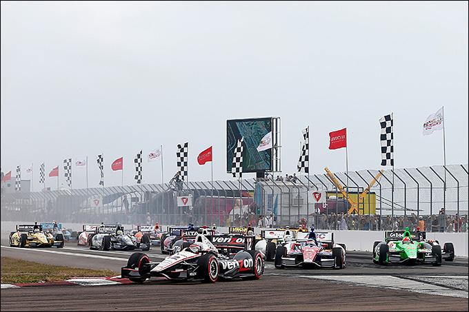 Первая гонка сезона IndyCar в Сент-Питерсберге