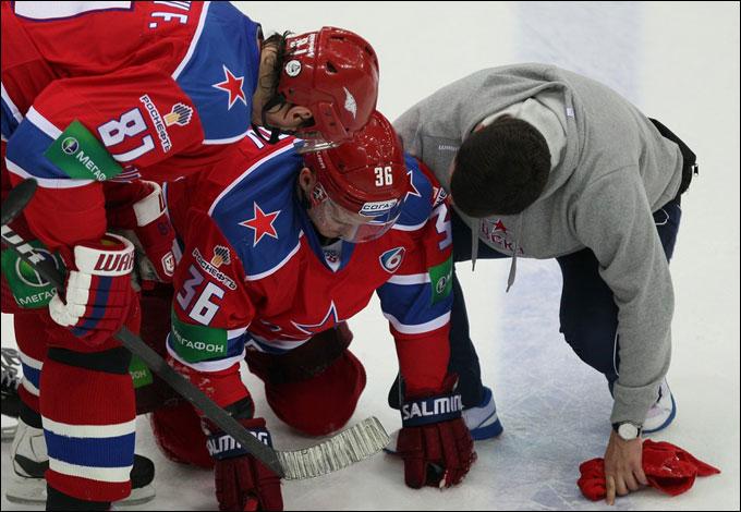 Яков Рылов провёл после травмы лишь 8 смен…