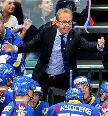 Главный тренер сборной Швеции Пер Мортс