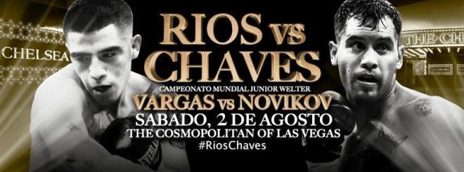 Постер к бою Диего Габриэль Чавес — Брендон Риос