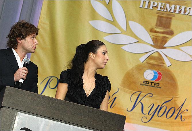 Алексей Михайлов и Анастасия Мыскина
